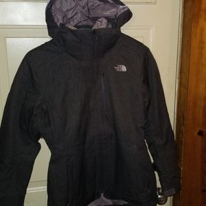 Women two in one north face jacket
